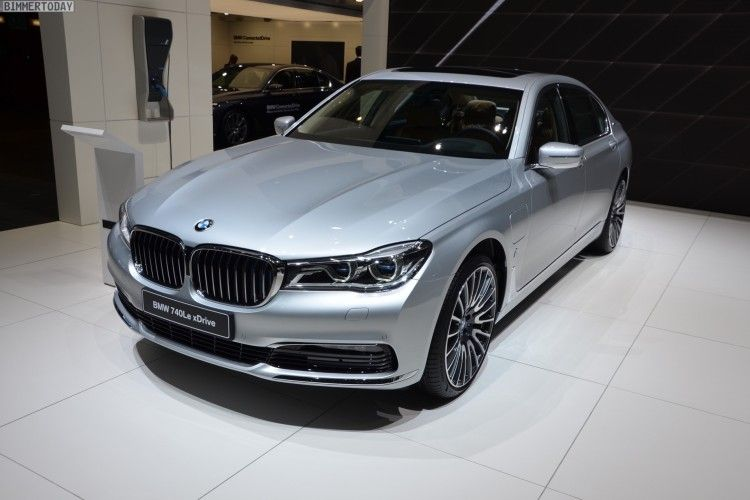 BMW iPerformance 740Le kommt in Genf an