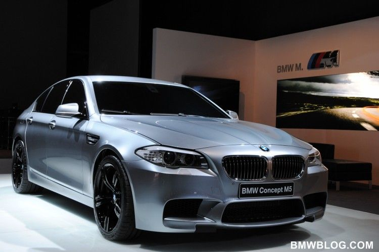 Eerste video's: BMW M5 Concept