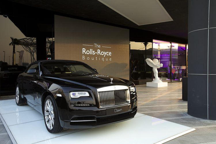 Experimentele showroom 'Rolls-Royce Boutique' geopend in Dubai