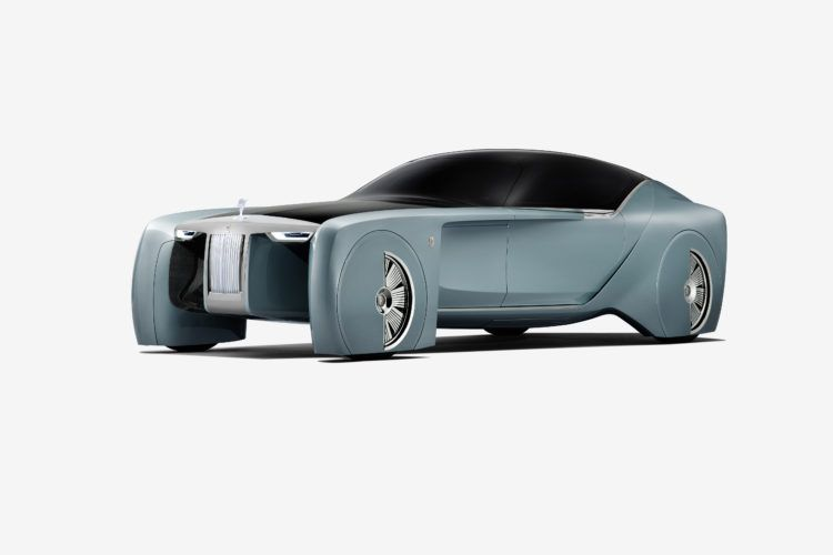 Video: Rolls-Royce VISION NEXT 100 Concept