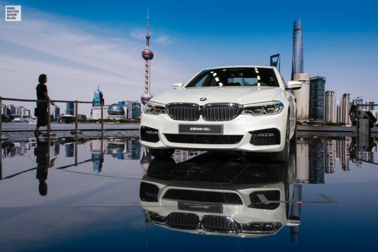 BMW 5er Langversion 2017 China G38 Live in Shanghai 05 750x500