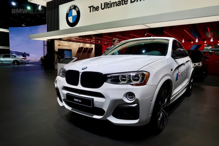 Detroit Auto Show 2017: BMW X4 M40i uitgedost met M Performance Parts
