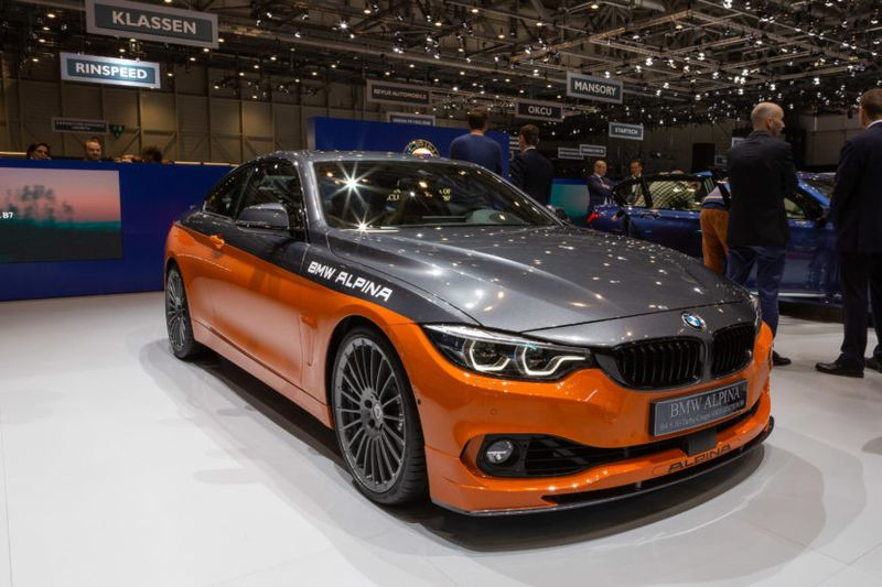 BMW Alpina B4 S Bi Turbo Coupe AWD Edition99 2019 GIMS Geneva MG 1196 830x553