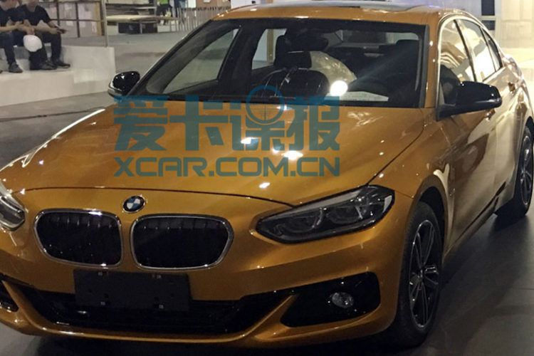 BMW 1 Series Sedan China 750x500