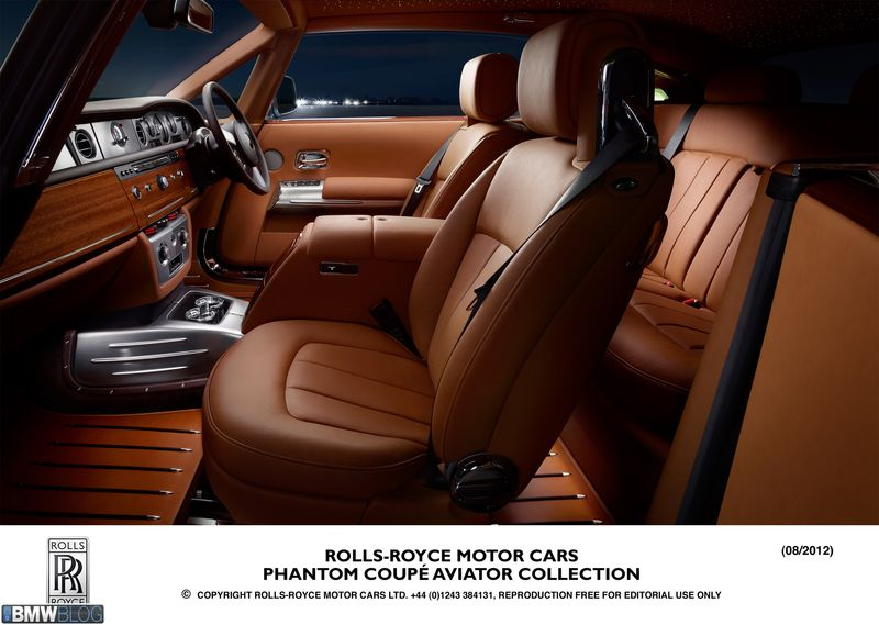 Rolls Royce presenteert de Phantom Coupé Aviator Collection