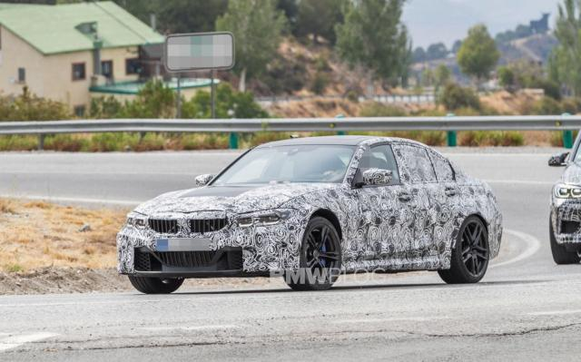 SPIED: Eerste G80 BMW M3 Spy Photos